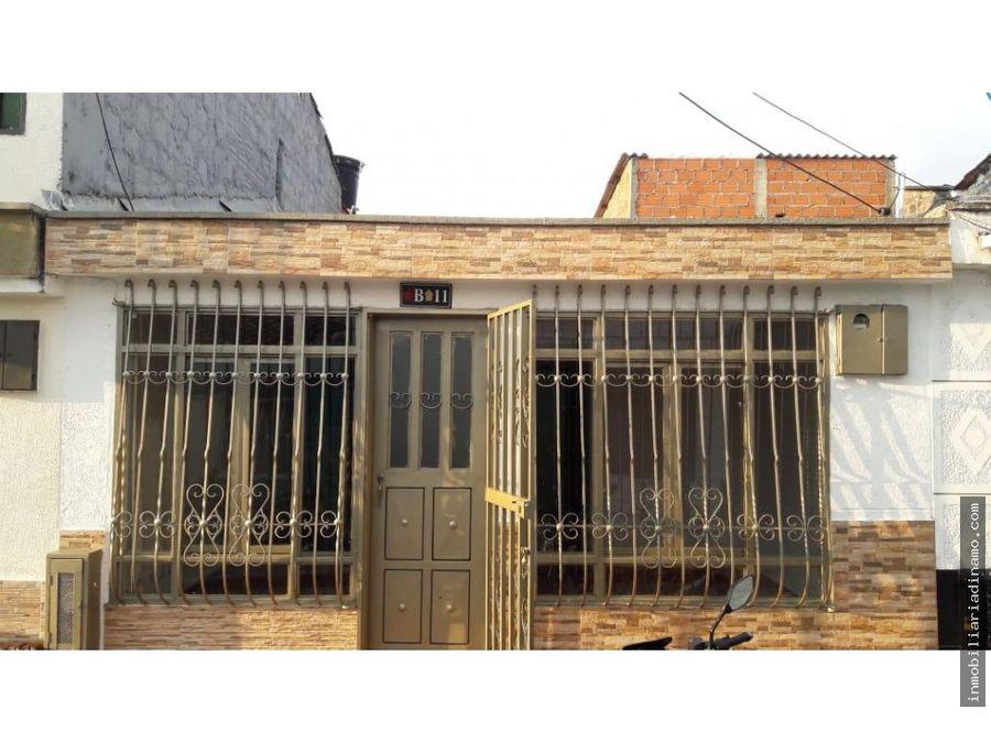 casa en venta en barrio los almendros armenia