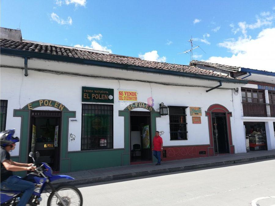 casa en venta en el centro calle 5 popayan