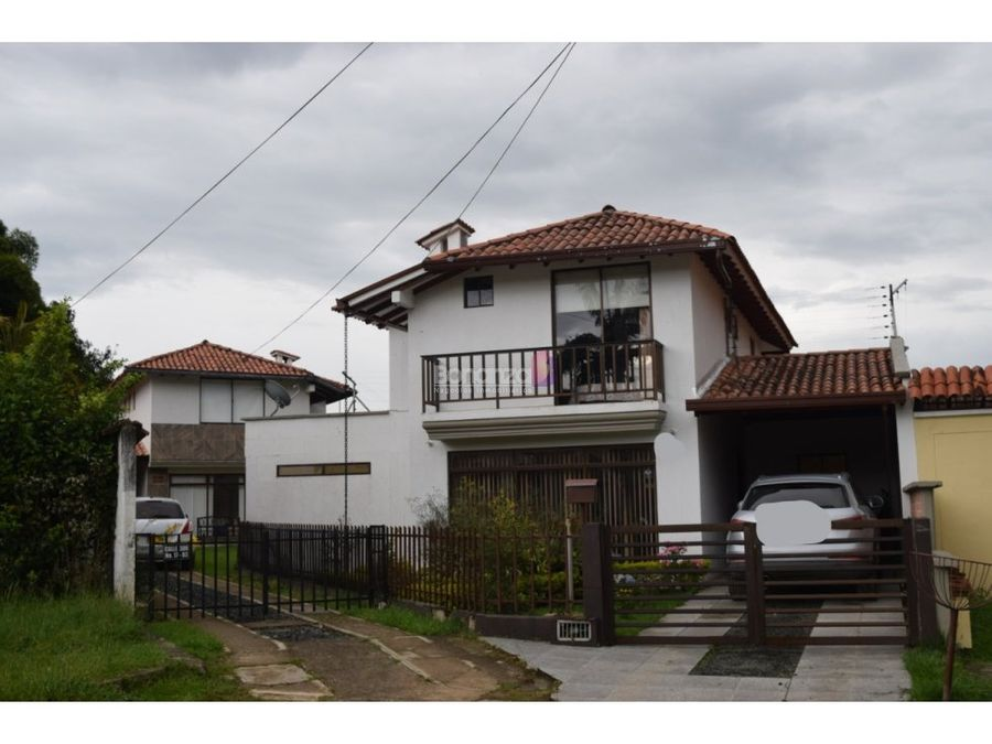 casa en venta en campo bello popayan