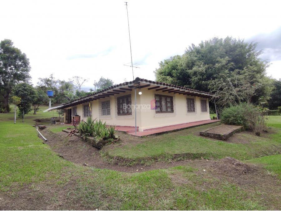 casa campestre en la parcelacion la victoria popayan