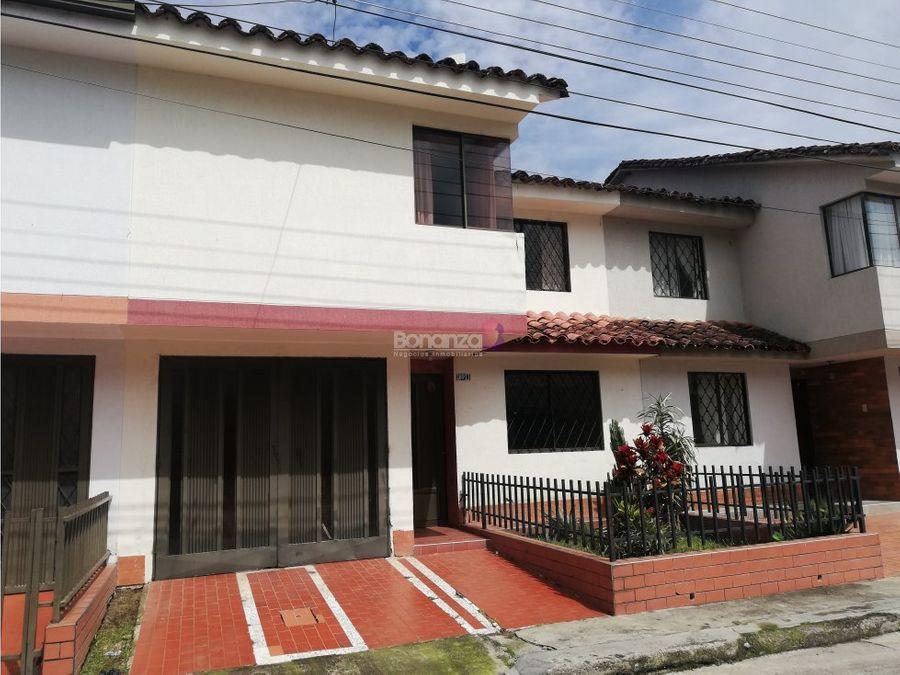casa en venta urbanizacion pomona popayan