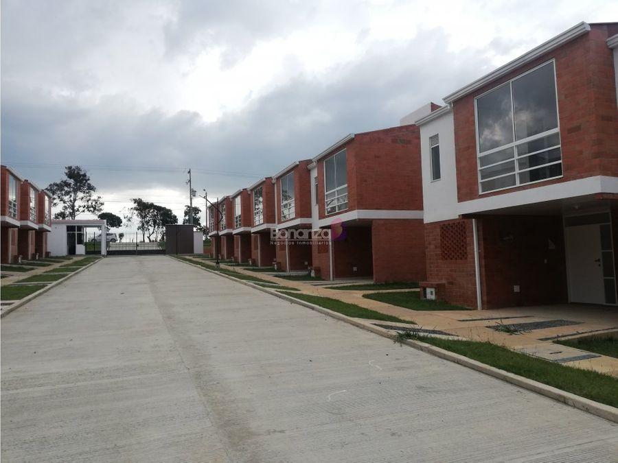casa en venta en la calleja popayan