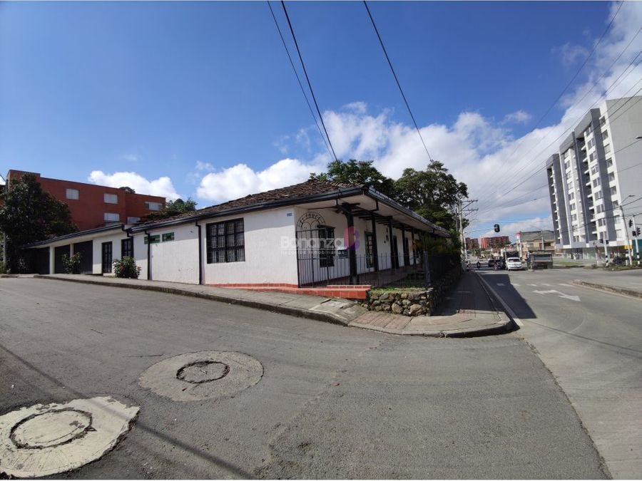 casa lote esquinero en venta sector lacteos popayan
