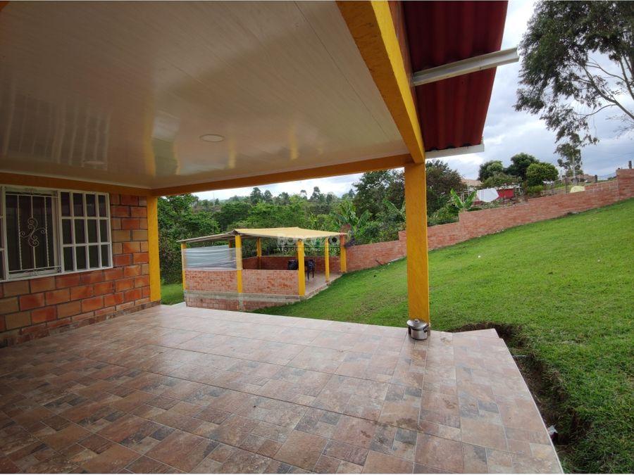 venta de casa de campo o parcela en clarete popayan