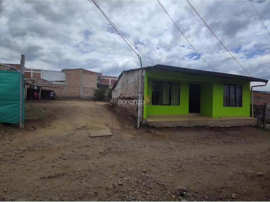 en venta casa lote en el barrio el uvo popyan