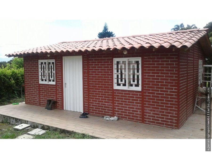 casa campestre para la venta santagueda