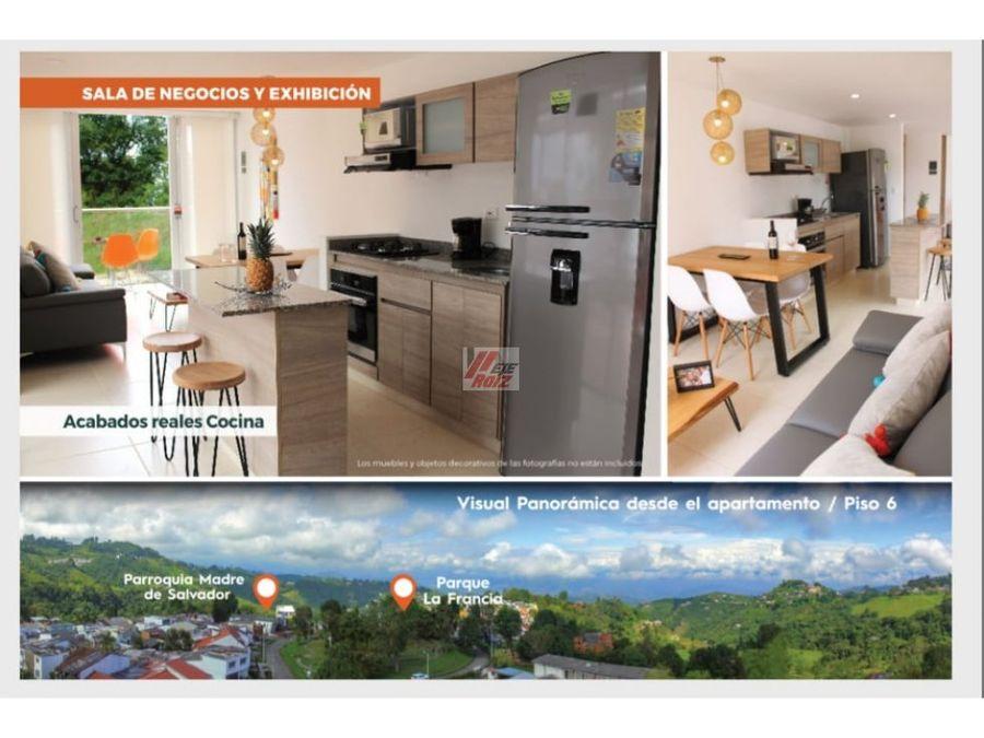 venta apartamento sobre planos sector la francia