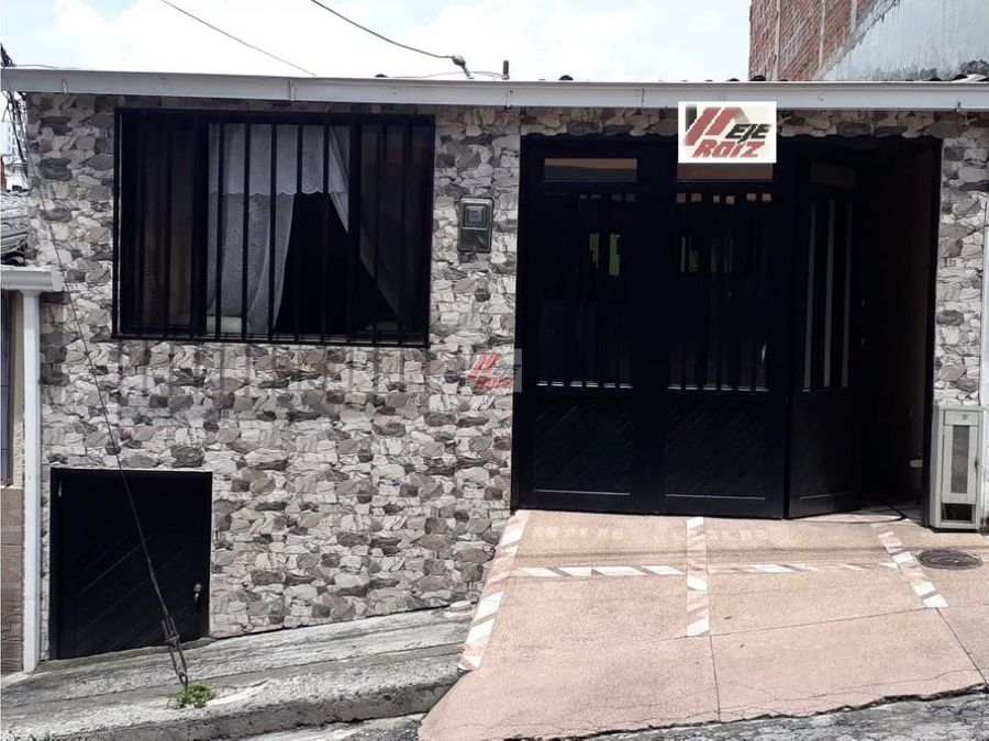 venta casa sector villamaria area 62 mtrs2