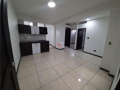 venta apartamento sector villamaria area 40 mtrs2