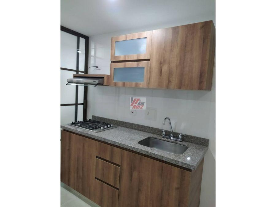 se arrienda apartamento nuevo sector la sultana 56 mtrs2