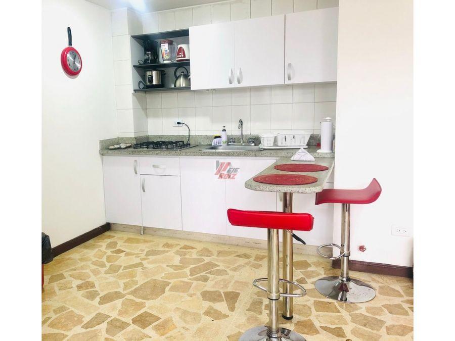 se vende apartaestudio con espacios divididos sector milan 51 mtrs2