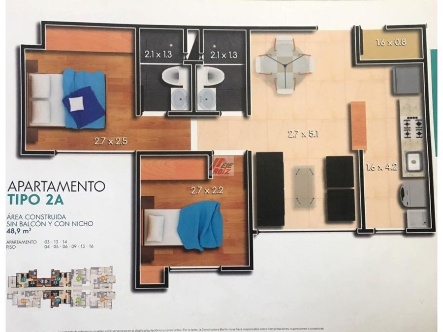 venta apartamento sobre planos sector baja suiza