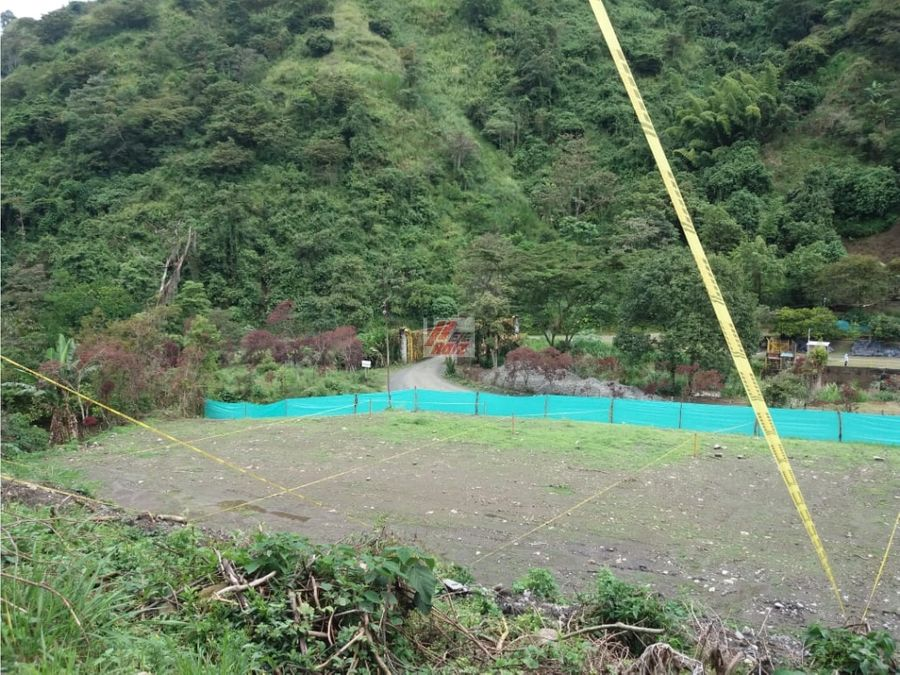 venta lote campestre sector chinchina area 600 mtrs2