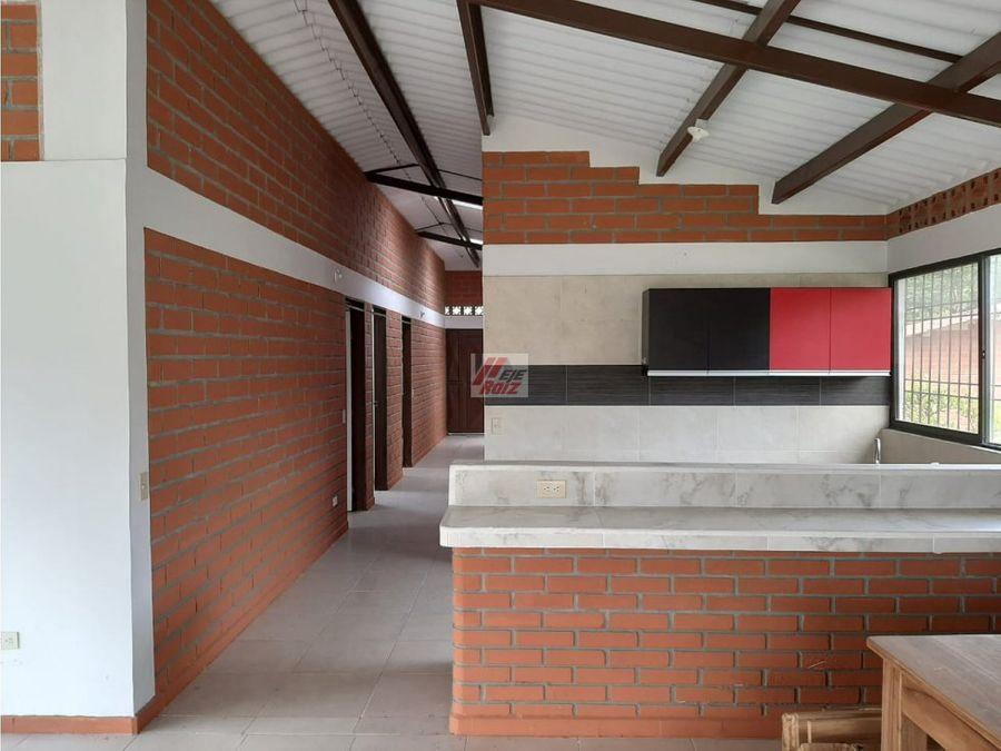 venta casa campestre sector santangueda