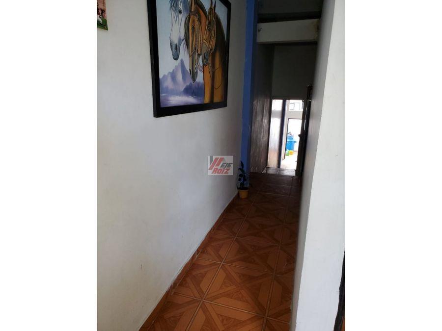 venta casa con renta sector chinchina