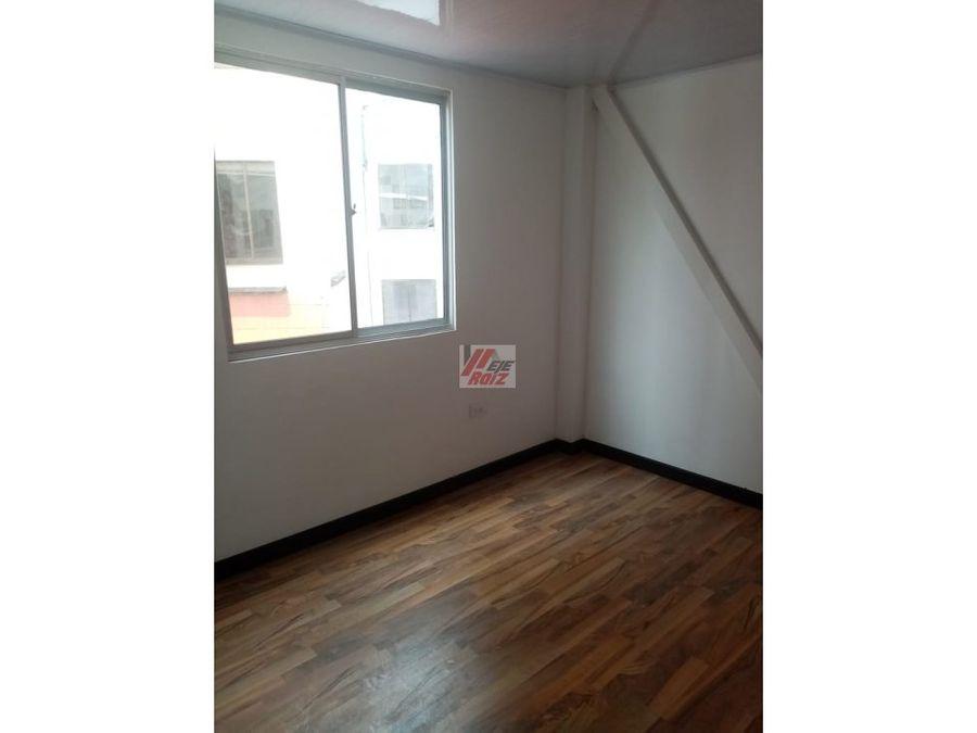 se vende apartaestudio con espacios divididos sector vizcaya 25 mtrs2