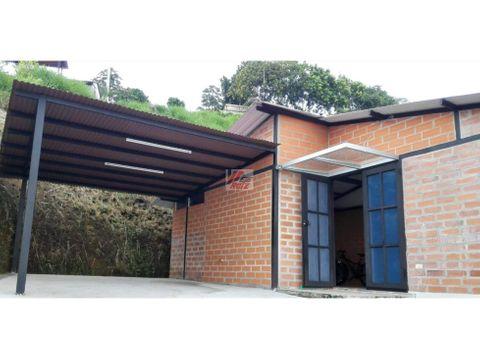 venta casa campestre en conjunto sector palestina area 530 mtrs2