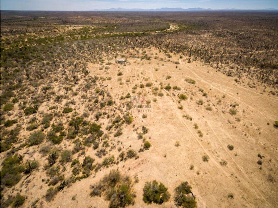 terreno rancho la mora y los laureles la paz