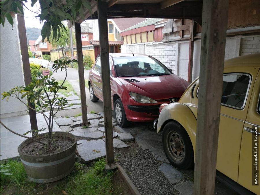 se vende de casa en la comuna de chiguayante ciudad de concepcion