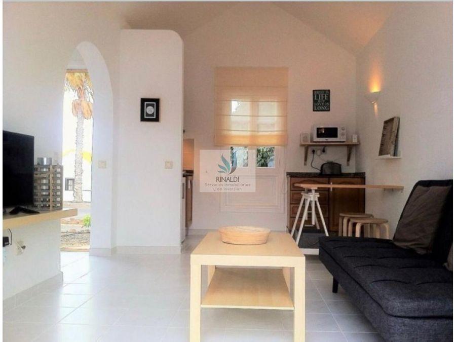 bungalow en venta en caleta de fuste montecastillo