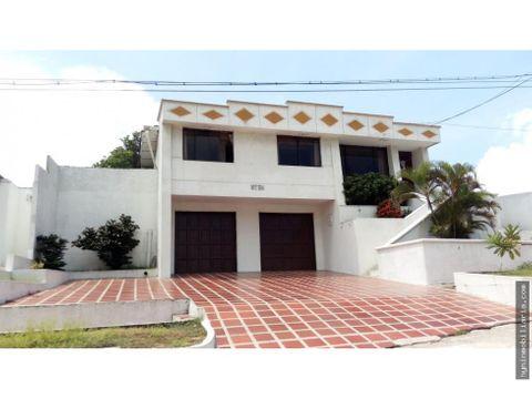 venta casa la cumbre barranquilla