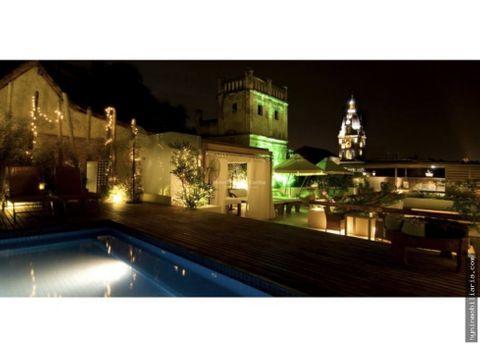 venta hotel boutique cartagena