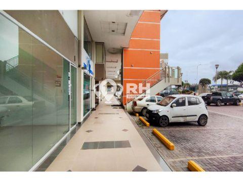 local comercial con mezanine en venta en oroplaza machala lsmi1