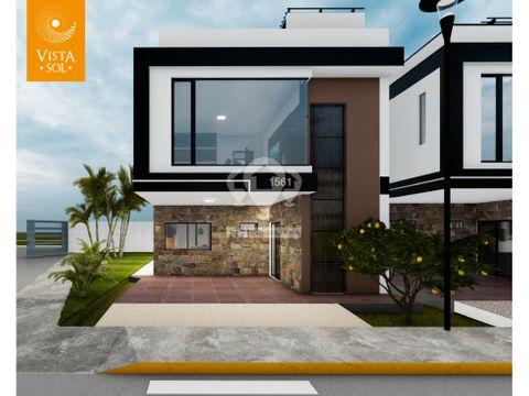 casa de 2 pisos con terraza en urb vistasol aur