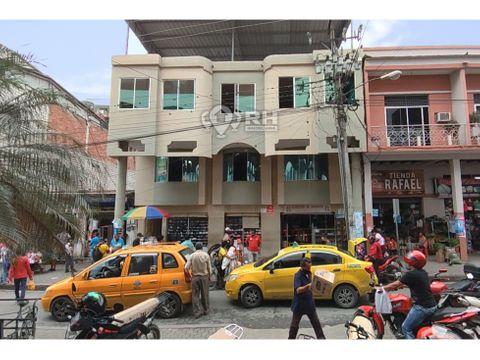 edificio comercial frente al mercado central de santa rosa atnr