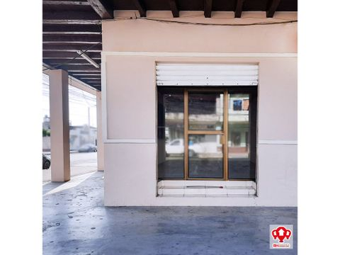 local comercial esquinero en alquiler zona centrica de machala mg06