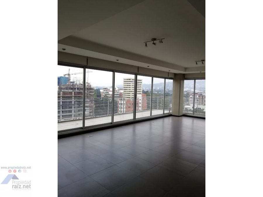 alquilo penthouse zona 14 torre catorce d