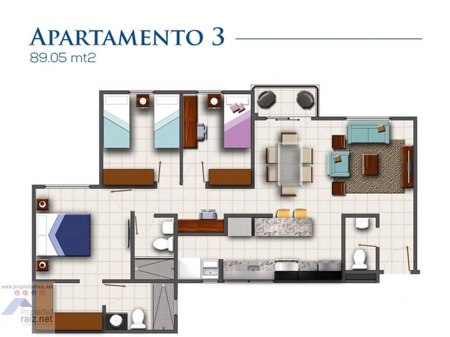 apartamento san miguel el naranjod