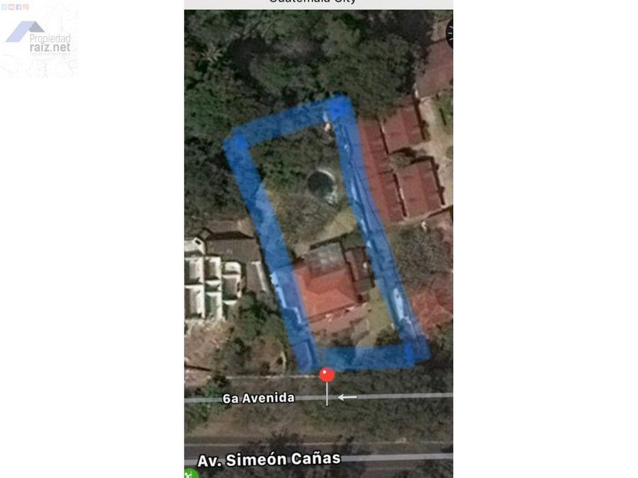 propiedad con amplio terreno z2 simeon canasi