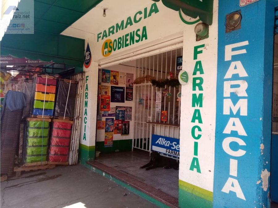 farmacias asobiensa se vende el derecho de llave d