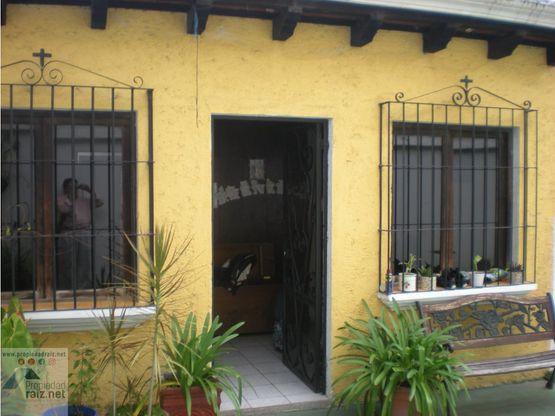 vendo casa en condominio antigua guatemala d
