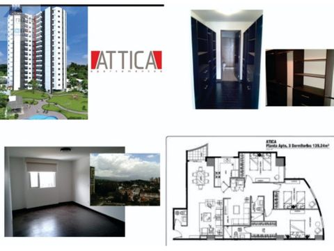apartamento nivel alto z14 attica 1d