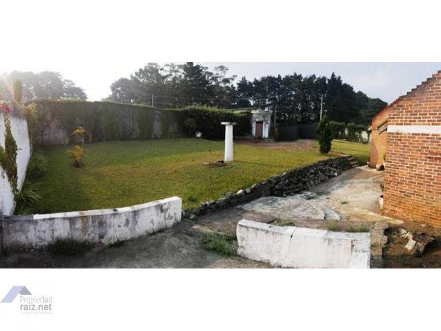 casa com amplio terreno en muxbali