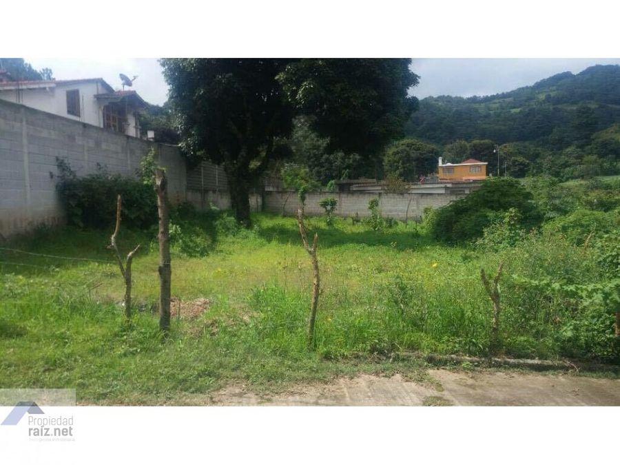 vendo terreno en chimaltenango km 34 d