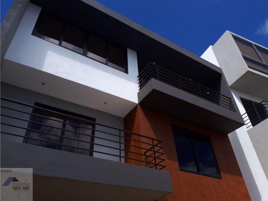 casa nueva residencial exclusivo muxbal d