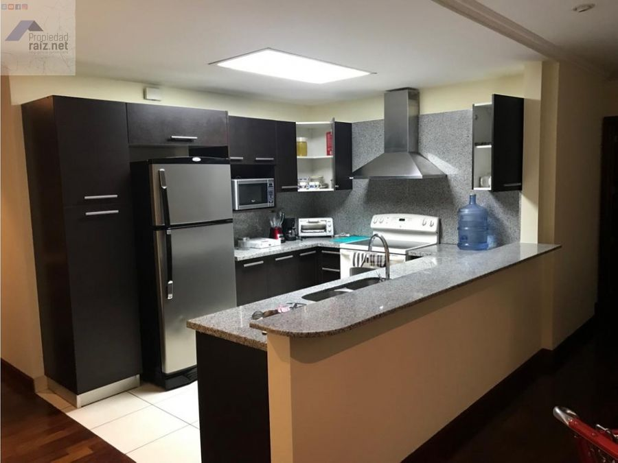 apartamento amueblado z14 san patriciod