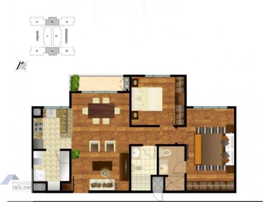 apartamento zona 14invi