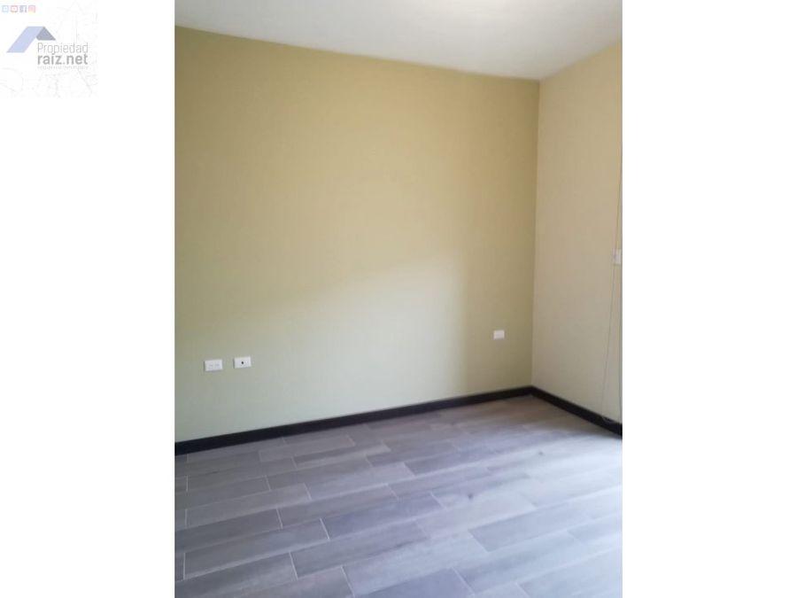 alquilo apartamento nuevo en primer nivel z11 d