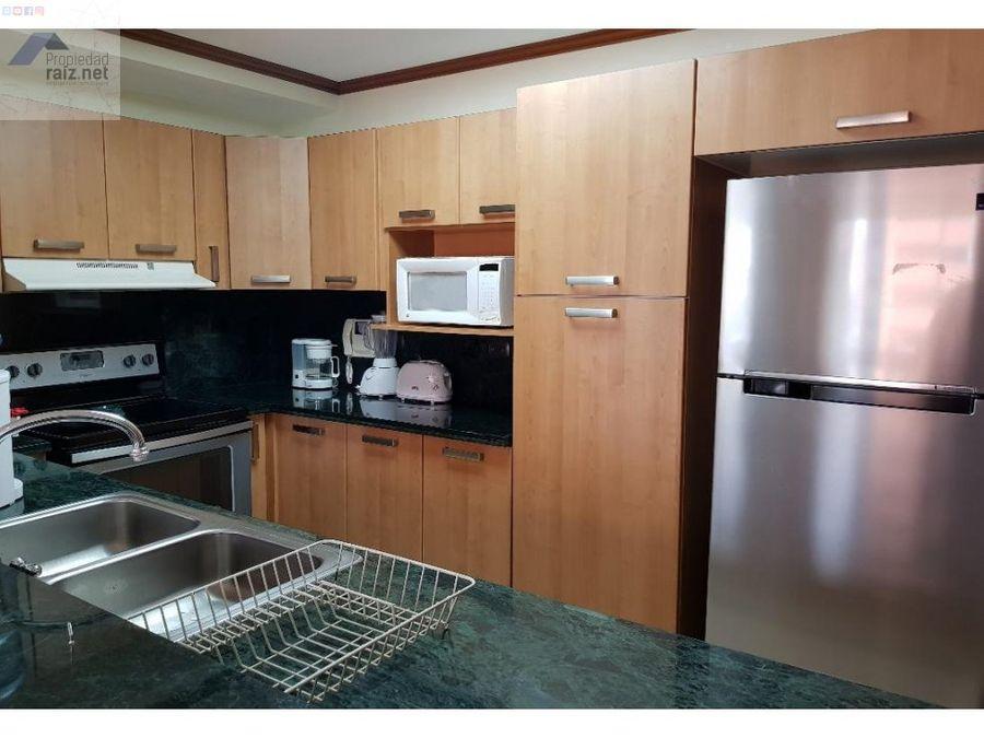 apartamento amueblado renta zona 14 san angeld