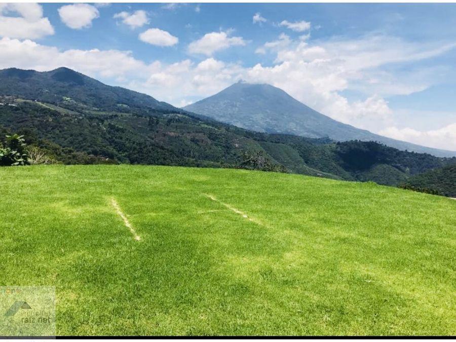 vendo terrenos antigua guatemala san mateo d
