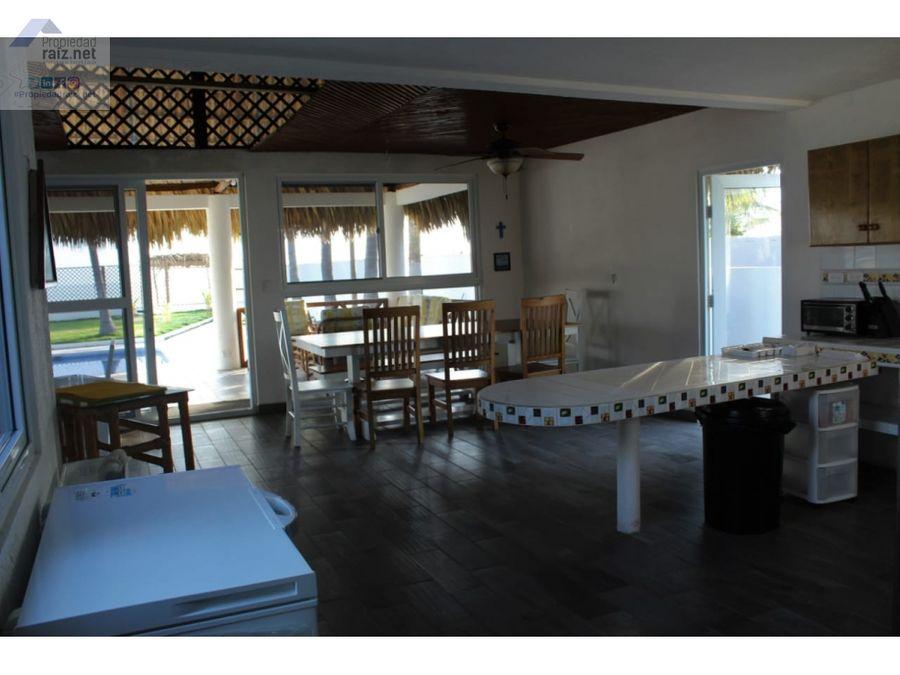 casa de playa en monterricod