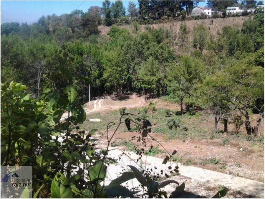 terrenos en villa canales km 245i