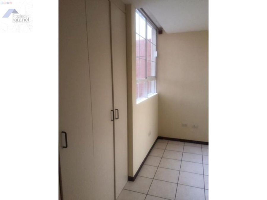 apartamento en alquiler zona 16 villas de san isidro d