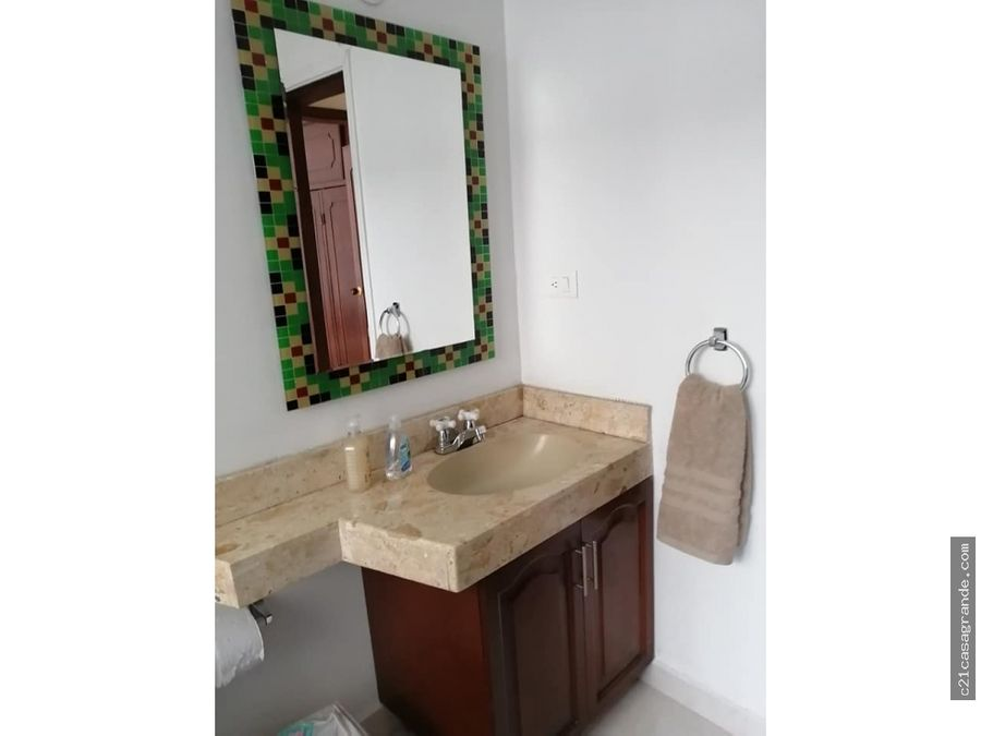 amplio apartamento amoblado santabarbara