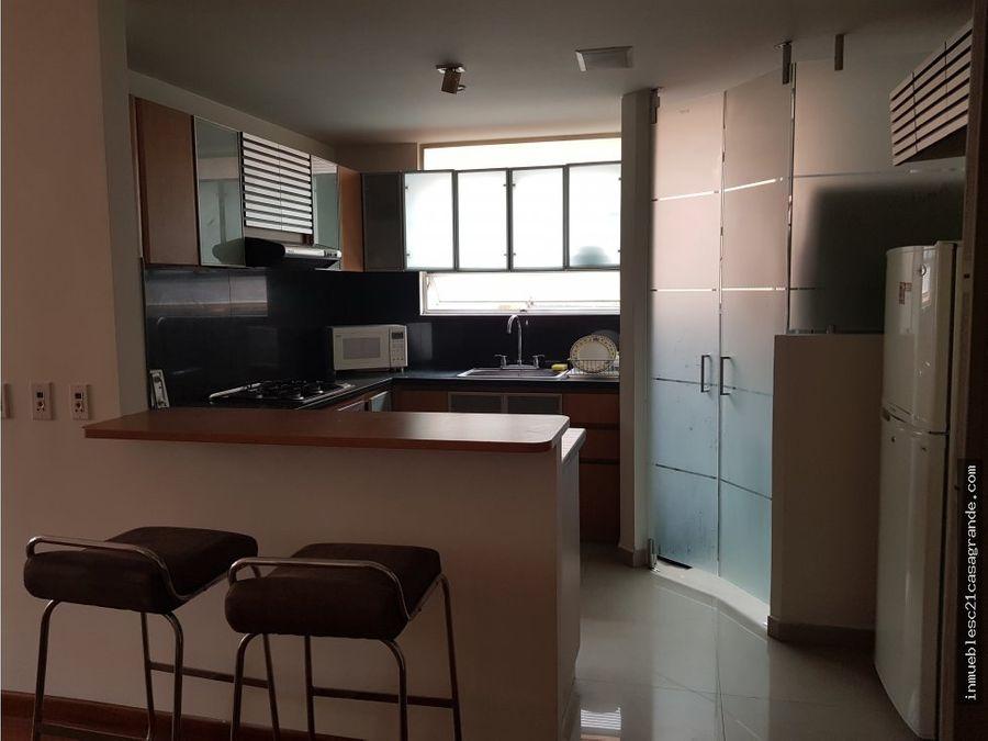 apartamento amoblado para arriendo