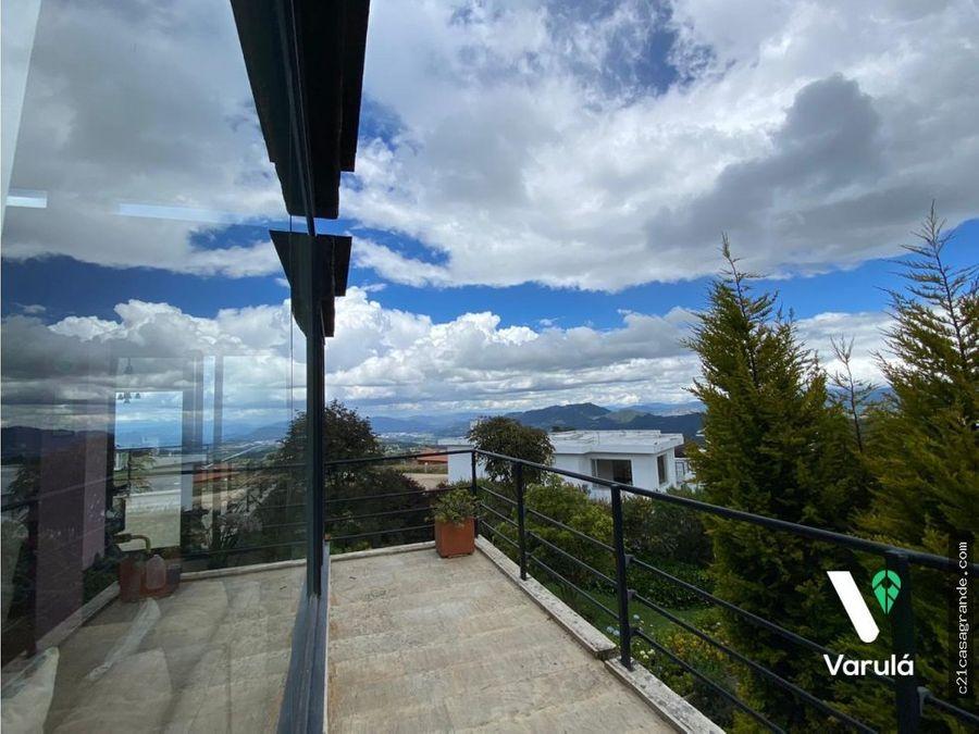espectacular casa campestre viilas de yerbabuena chia